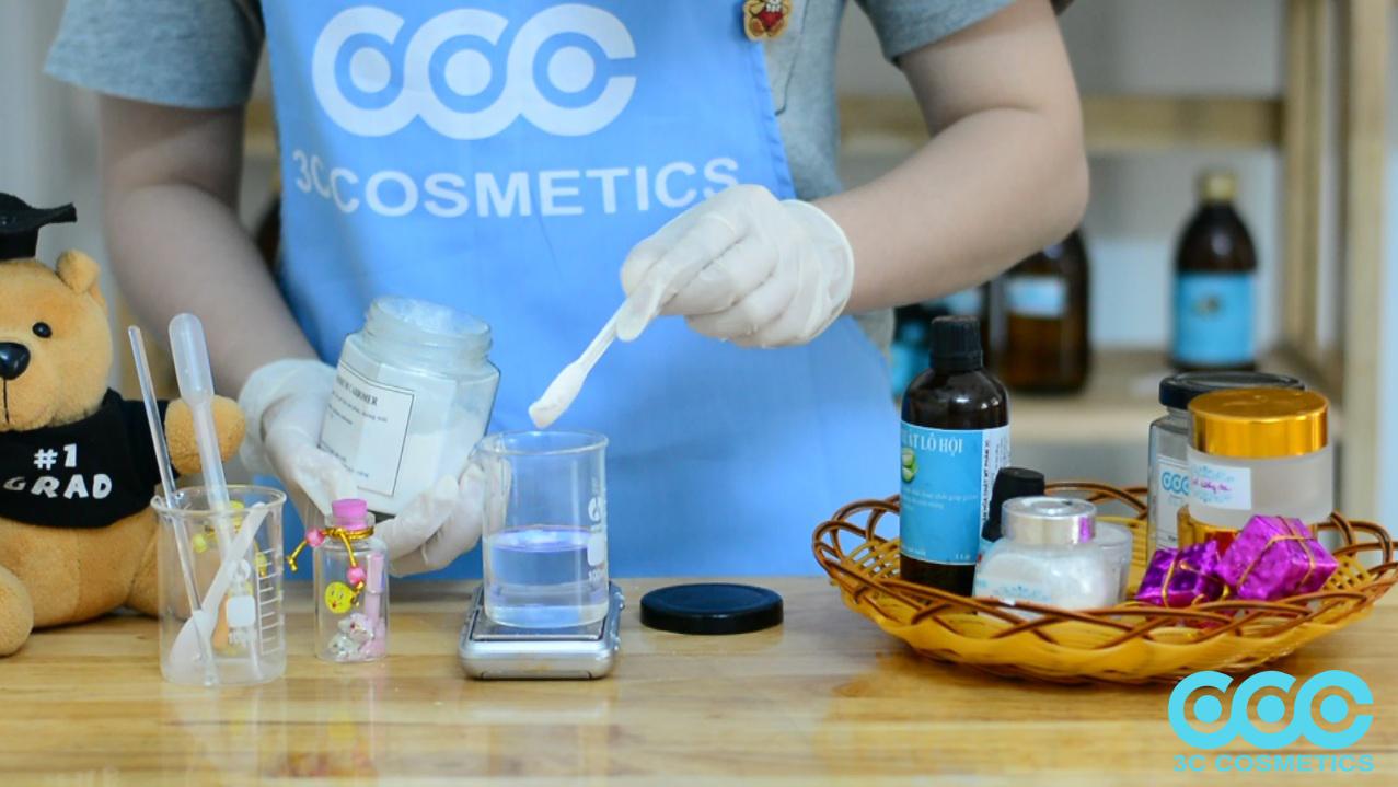 3.1Công thức làm Gel dưỡng da với nền Sodium Carbomer