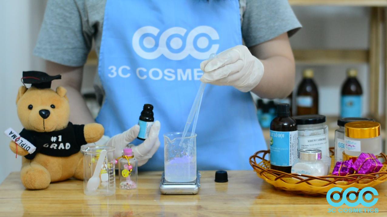 4.1Công thức làm Gel dưỡng da với nền Sodium Carbomer