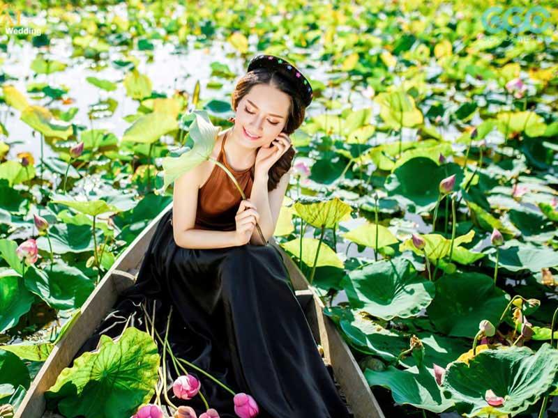 Không gian mang đậm nét đẹp thuần Việt này là nguồn cảm hứng tuyệt vời cho các nhiếp ảnh gia