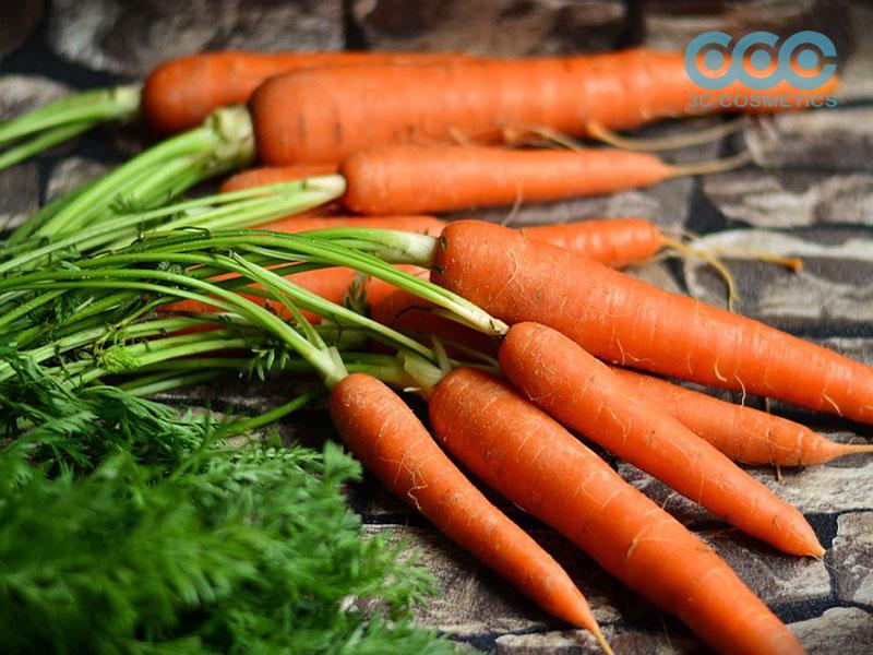 quy trình làm bột cà rốt