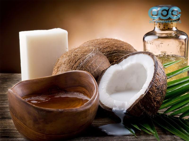 dưỡng da bằng dầu dừa đúng cách