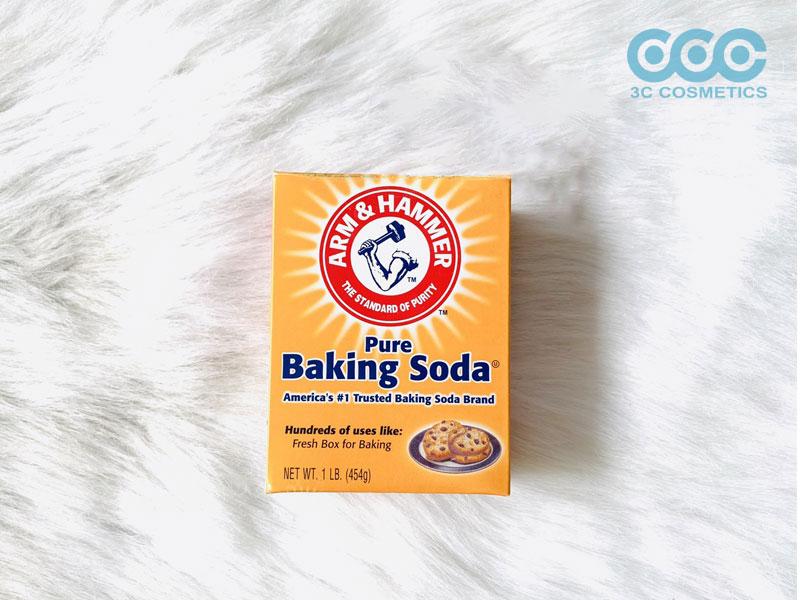 10 công thức làm đẹp với baking soda cho chị em làn da mịn màng