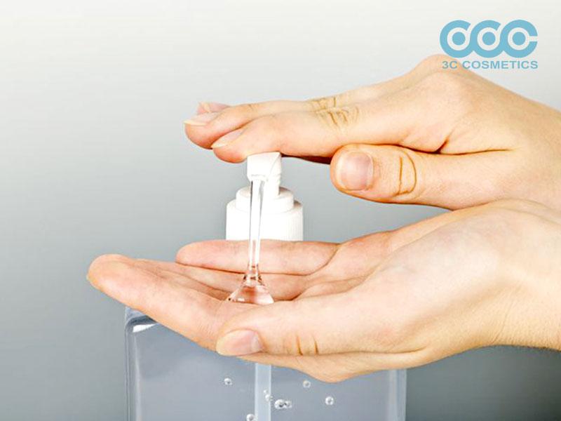 nước rửa tay khô sát khuẩn hiệu quả