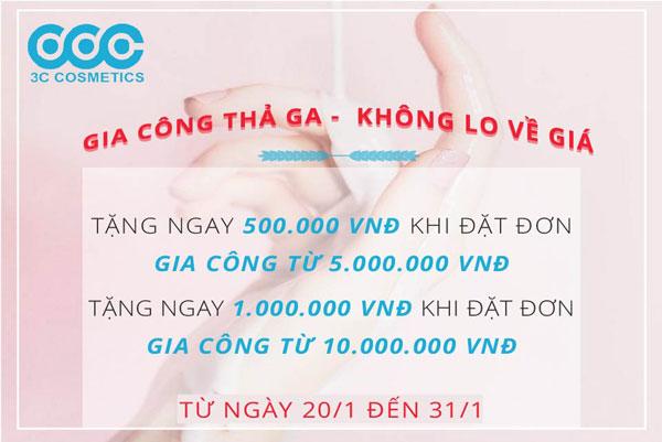 KM: DISCOUNT 500K, 1000K