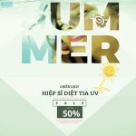 SALE UP TO 50%: Chiến dịch HIỆP SĨ DIỆT TIA UV