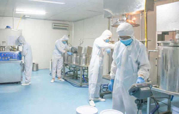 nhà máy gia công mỹ phẩm uy tín