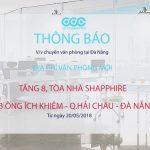 THÔNG BÁO: Văn phòng Đà Nẵng chuyển về địa chỉ mới