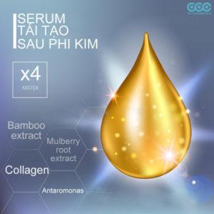 serum tái tạo sau phi kim