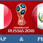 So Kèo Pháp-Peru tối nay lúc 22h00