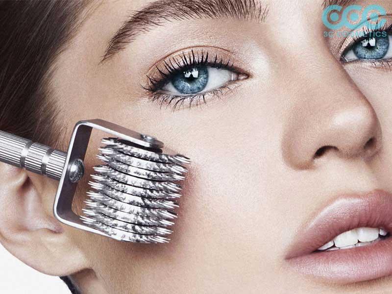hướng dẫn chăm sóc da tại nhà sau khi sử dụng máy lăn kim mini