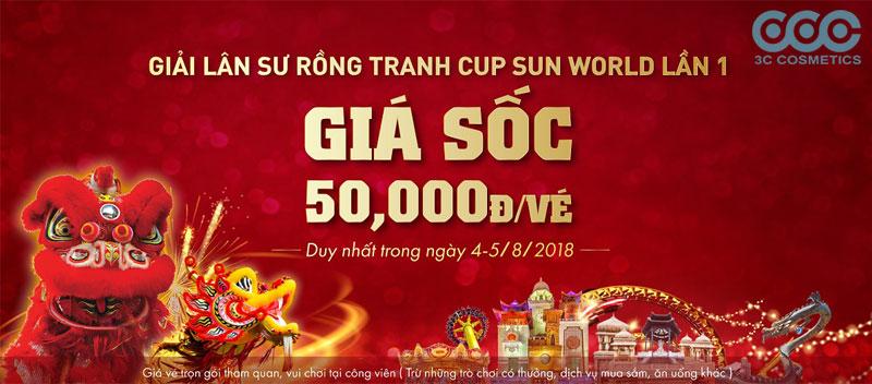Chỉ với 50k được xem Lân sư rồng thi đấu và chơi thả ga tại Asean Park