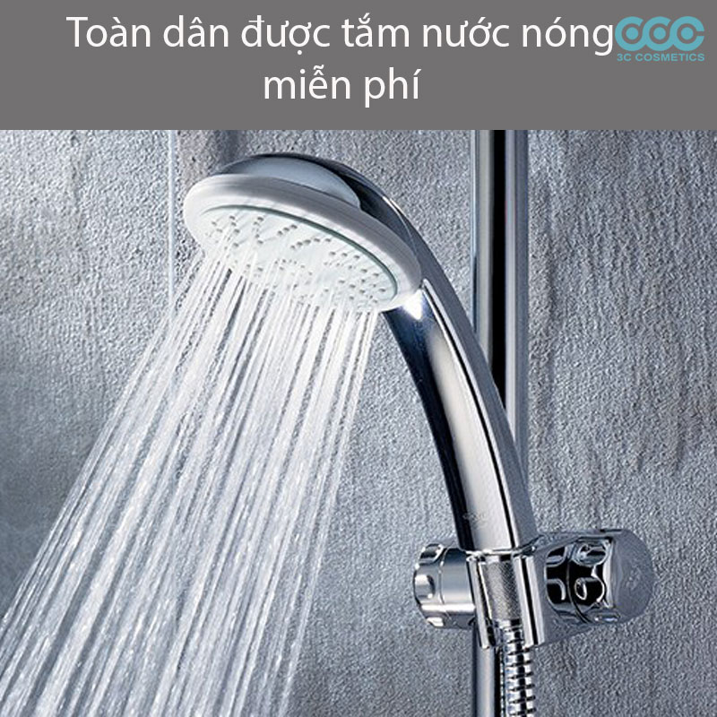 toàn dân được tắm nước nóng miễn phí