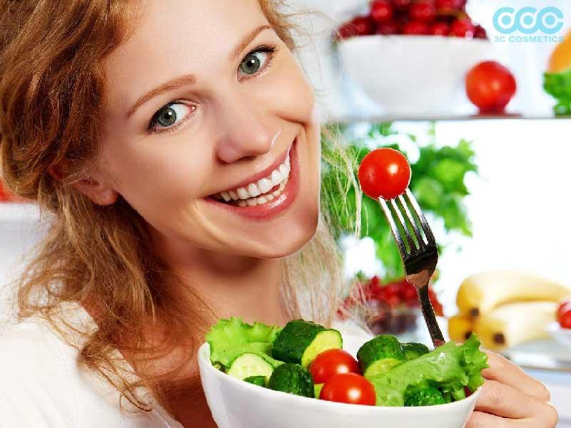 Ăn uống hợp lí là cách chăm sóc da body hiệu quả nhất