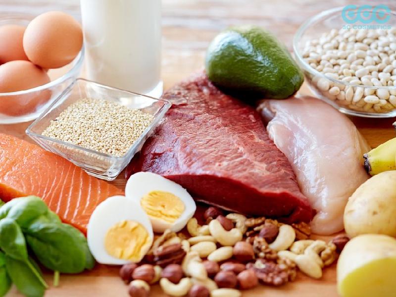 Bổ sung thực phẩm chứa nhiều protein