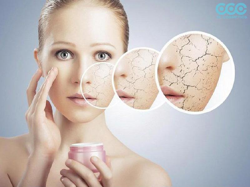 Các triệu chứng về làn da khô