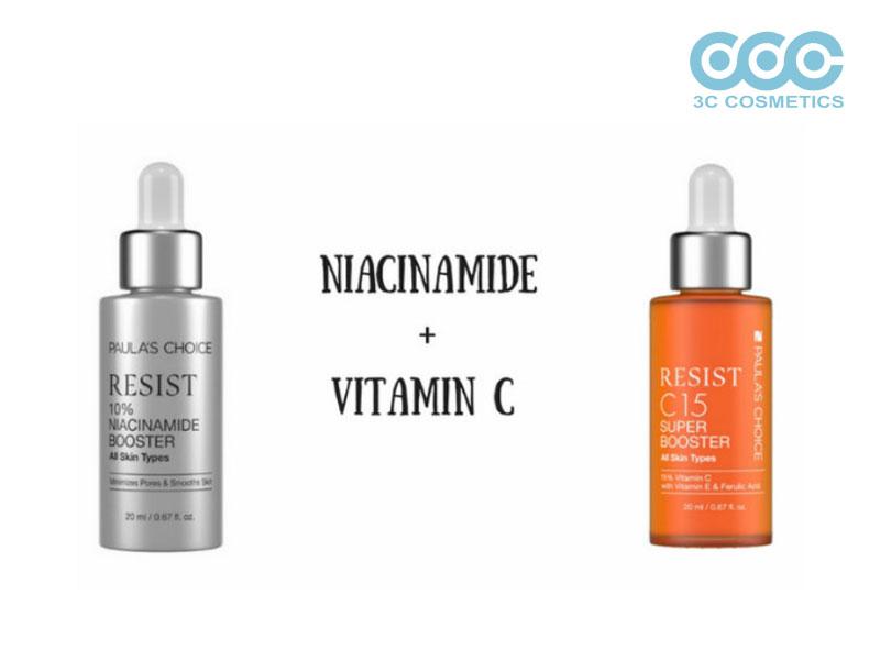 Công dụng khi kết hợp Niacinamide và Vitamin C