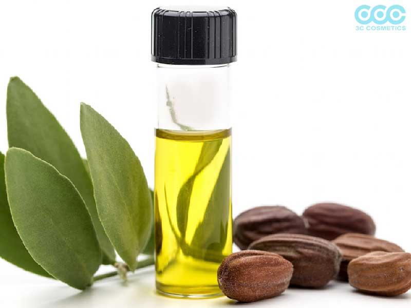 Tinh dầu Jojoba làm sạch da nhờn mụn