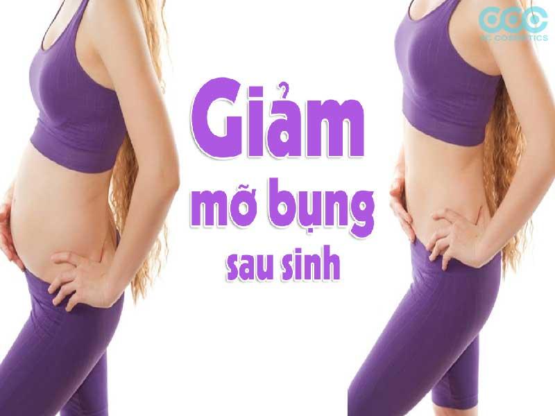 Nguyên nhân béo bụng sau khi sinh