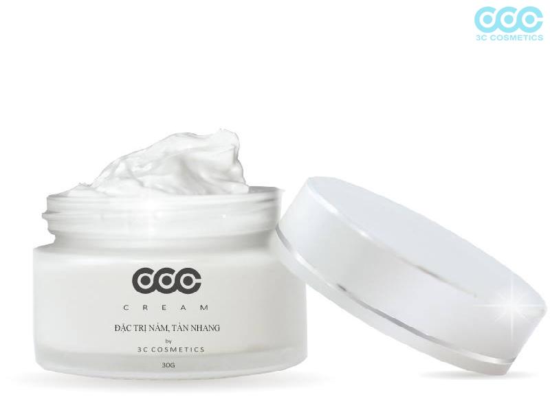 Cream trị nám 3C- phương pháp trị nám hiệu quả