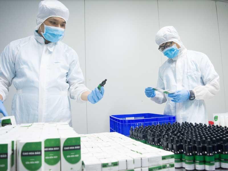 sản xuất mỹ phẩm độc quyền