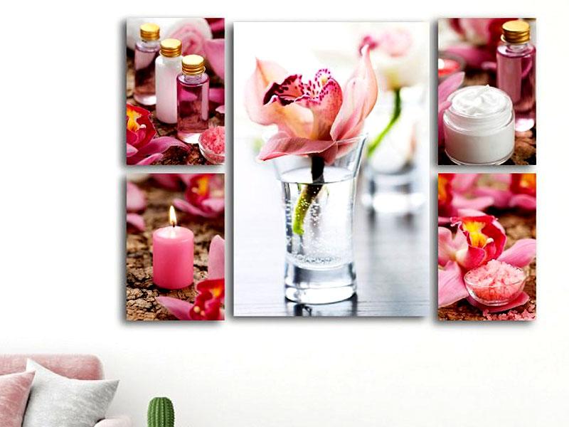 spa đẹp có trang trí hình ảnh
