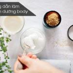 Cách làm Kem(Cream) dưỡng trắng Body