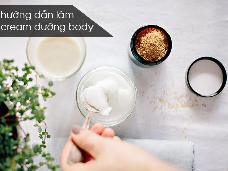 cách làm kem dưỡng trắng body