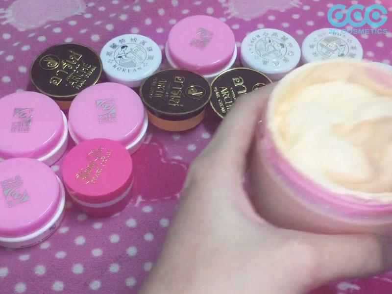 cách làm kem trộn trắng da mặt