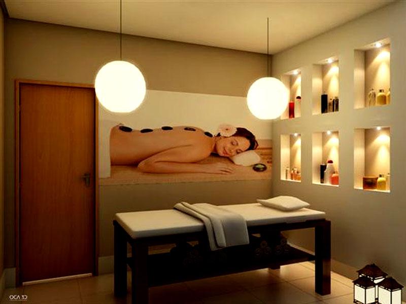 Tranh phòng điều trị spa đẹp 4