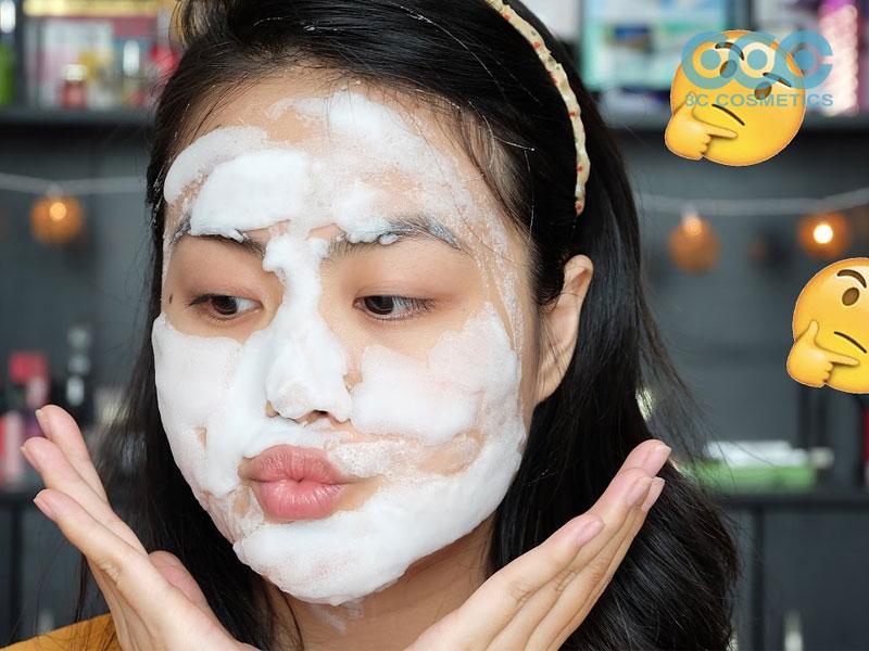 Mặt nạ sủi bọt - sản phẩm mới để hồi sinh làn da