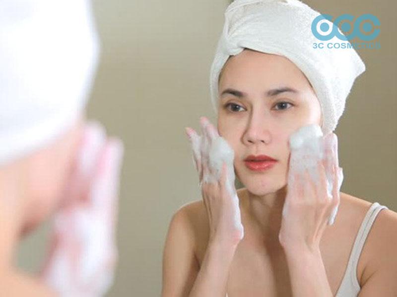chất hoạt động bề mặt dùng trong sữa rửa mặt