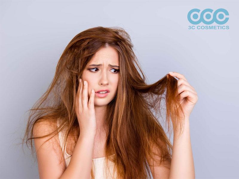 Cách chăm sóc tóc hư tổn.