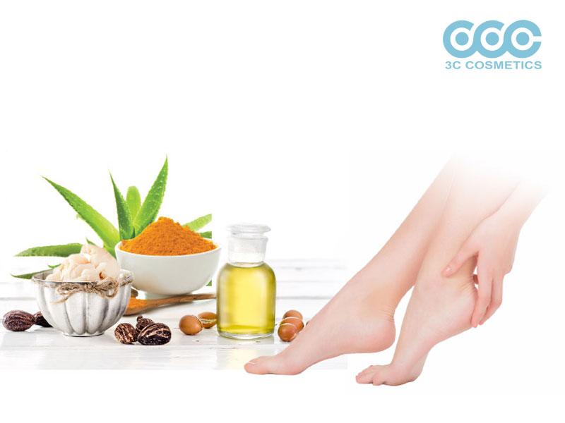 Sử dụng kem trị nứt gót chân