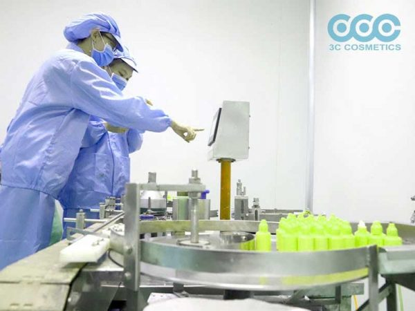Đơn vị sản xuất gia công mỹ phẩm
