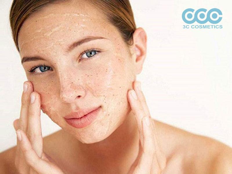 hướng dẫn tẩy tế bào chết cho da mặt