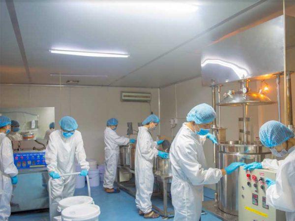 gia công sửa rửa mặt tẩy tbc hạt silica