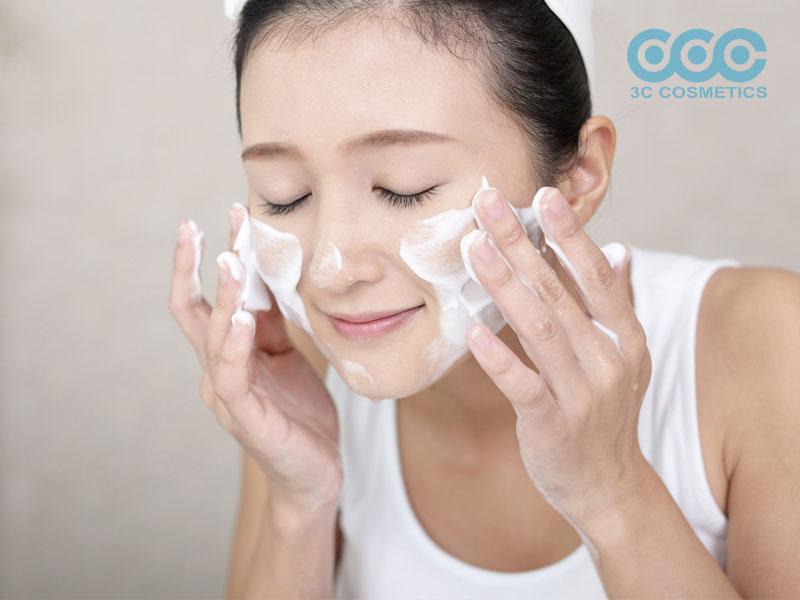 Chăm sóc da Hàn Quốc - làm sạch đôi