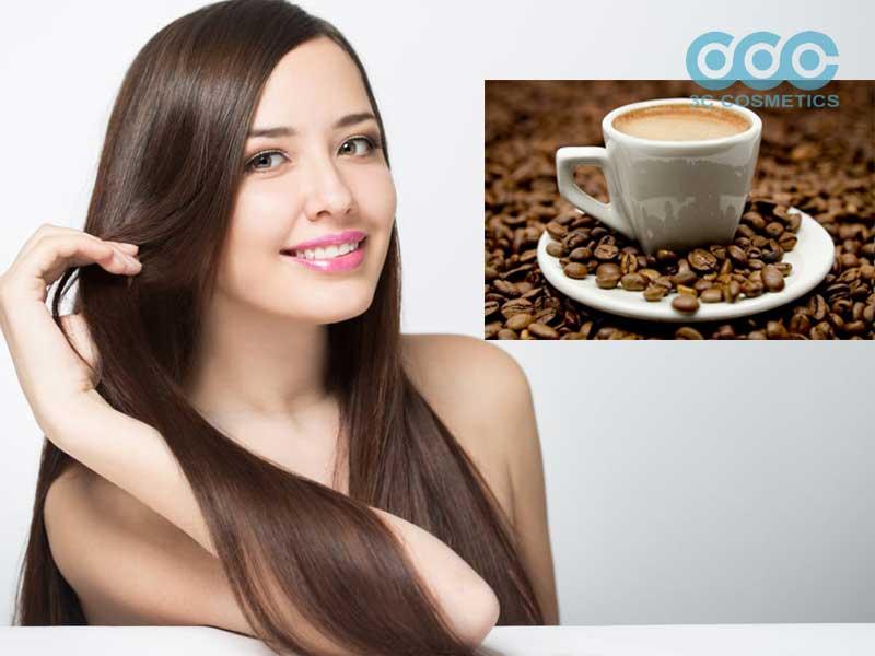 Tóc nhanh dài với cà phê