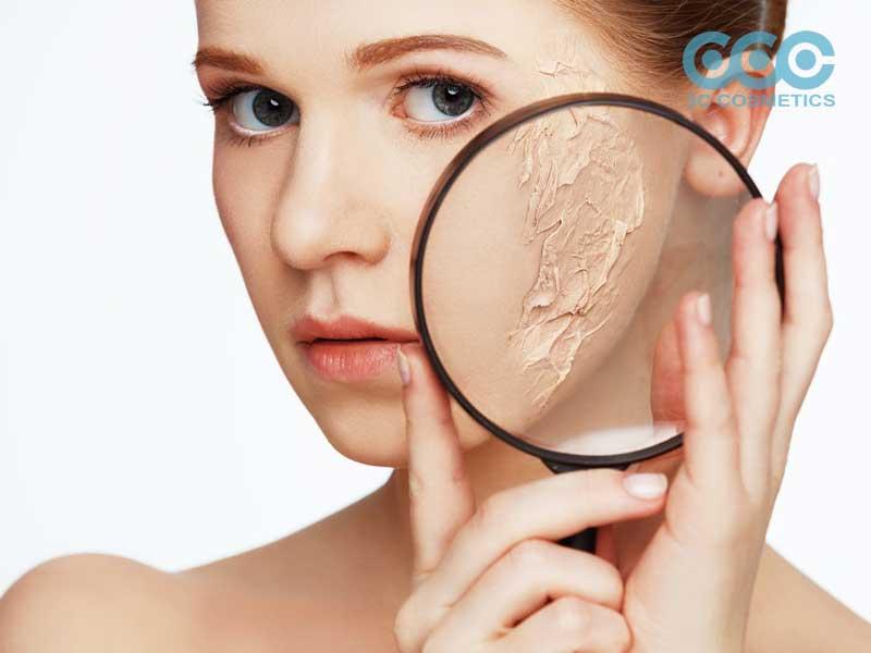 Lão hóa da là quá trình suy giảm các chức năng của da