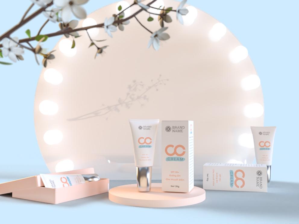 CC cream - sản phẩm che khuyết điểm hot trên thị trường