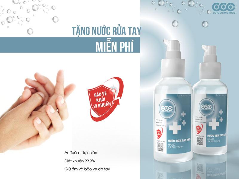 Free nước rửa tay