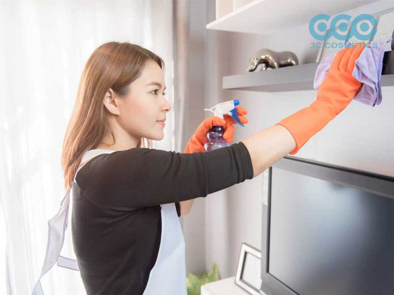 vệ sinh nơi sinh sống sạch sẽ