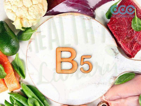 lợi ích của vitamin b5 có thể chữa lành vết thương