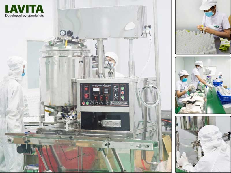 Nhà máy LaVita - Gia công mỹ phẩm thiên nhiên