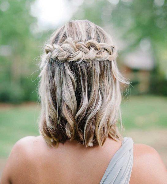 50+ cách tết tóc ngắn đi dự tiệc cực xinh