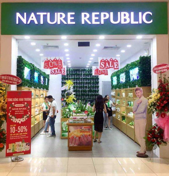 Khai trường cửa hàng mỹ phẩm thiên nhiên