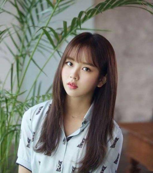 Kiểu tóc mang đậm phong cách xứ Hàn
