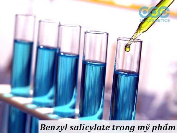 Thông tin chi tiết về benzyl salicylate