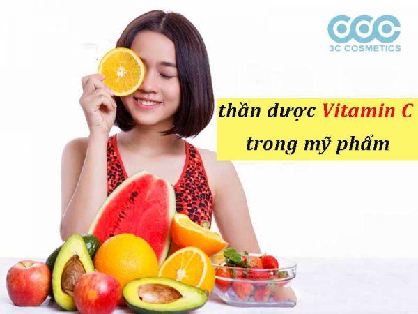 vitamin c trong mỹ phẩm