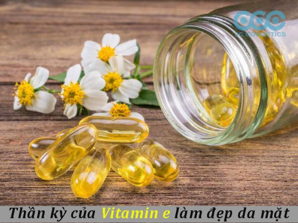 vitamin e làm đẹp da mặt